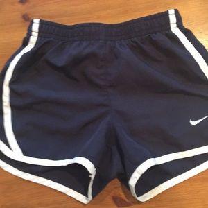 Little girls Nike running shorts size 5
